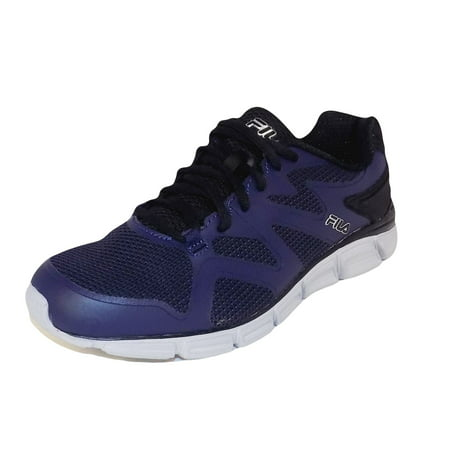 Fila Memory Cryptonic 2 Mens Navy Blue Lace Up Running Sneakers (Dark Navy Kids Shoes)