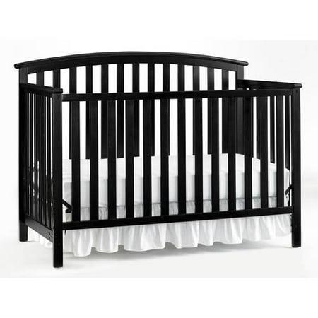 Graco Freeport 4 In 1 Convertible Crib Black
