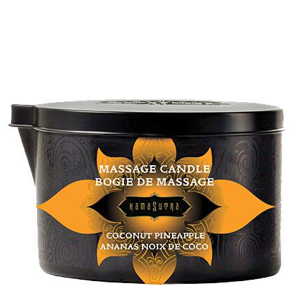 - Massage Candle Coconut Pineapple