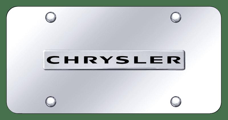 Au-tomotive Gold CHRNCC Chrysler License Plate