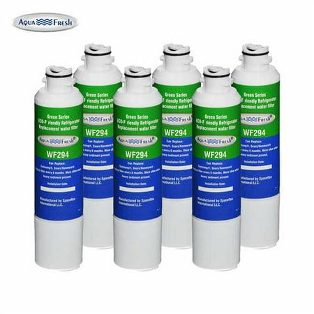 AquaFresh Replacement Filter for Samsung DA29-00020B / WF294 (6-Pack) Refrigerator Water Filter Aqua Fresh
