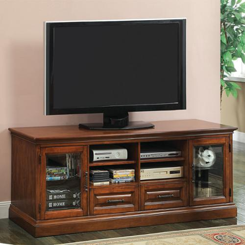 Furniture of America Thomson Transitional 72-inch Antique Oak Entertainment Console by FOA