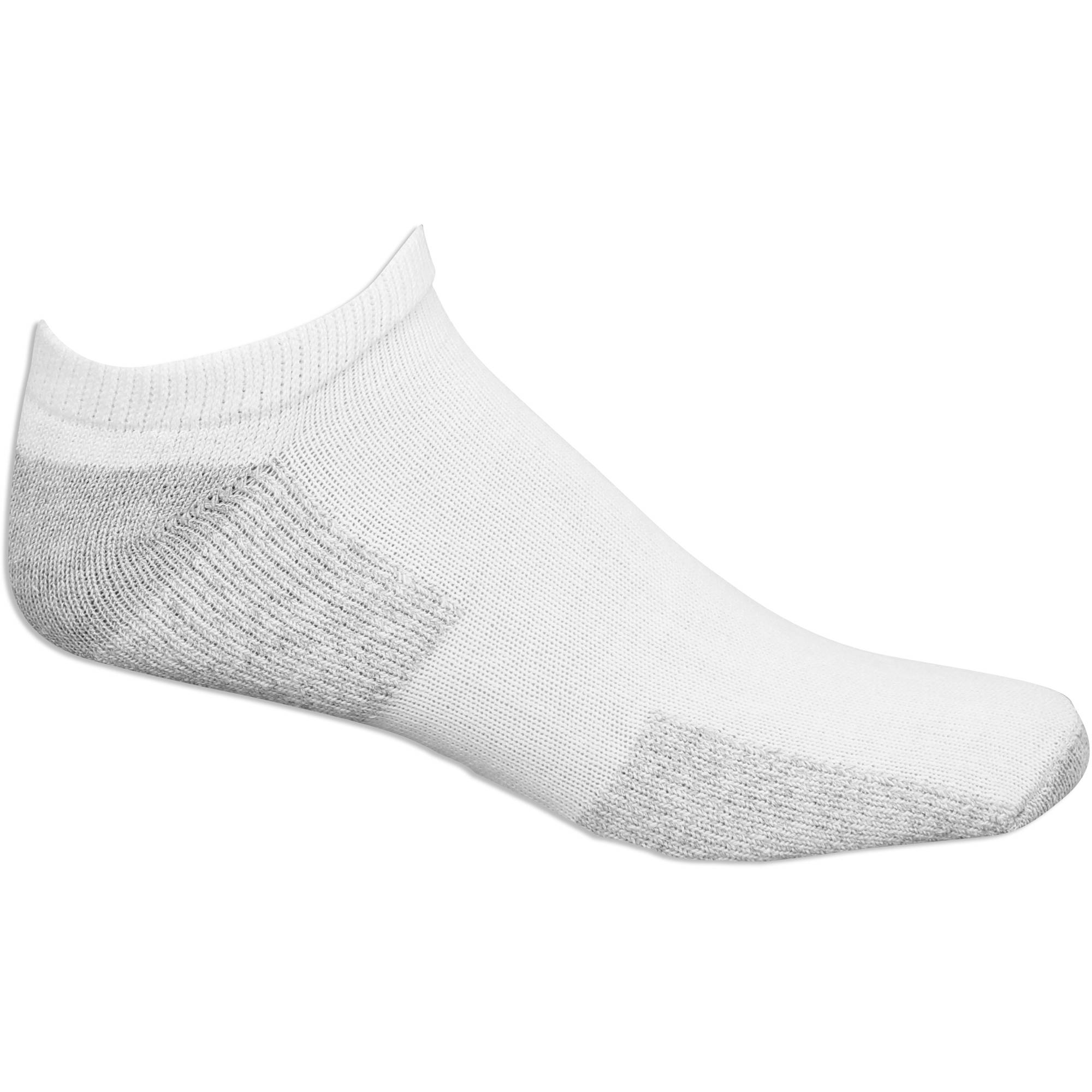 Fruit of the Loom Mens Big & Tall No Show Socks 10 Pack