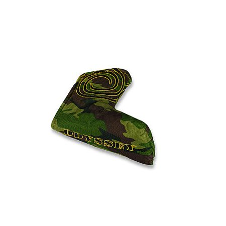 (Odyssey Camo Putter Headcover (Blade) Green Golf Club Cover NEW)