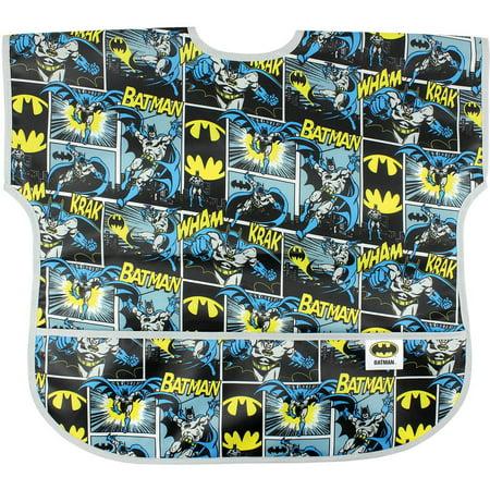(Batman Newborn Baby Boy Junior Short Sleeve Bib)