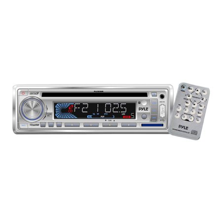 Pyle 160W AM/FM-MPX In-Dash Marine CD/MP3 Player/USB and SD Card Function