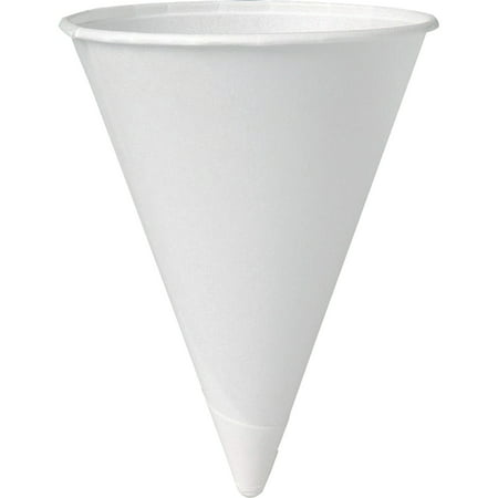 Solo Eco-Forward 4 oz Paper Cone Water Cups - Solo Cup Lights