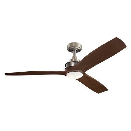 Ceiling Fan Kichler Lighting - Kichler 56 in. Ried Indoor Ceiling Fan with LED Light