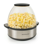 Best Popcorn Poppers - Nostalgia SP660SS 6-Quart Stirring Popcorn Popper With Quick-Heat Review