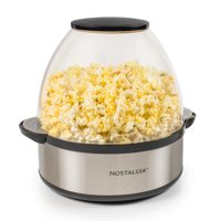 Nostalgia SP660SS 6-Qt. Stainless Steel Stirring Speed Popcorn Popper