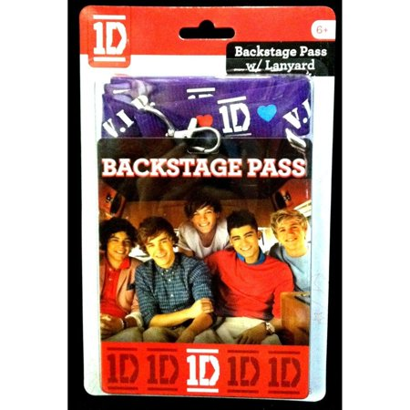 1D One Direction Backstage Pass Card W/Lanyard for $<!---->