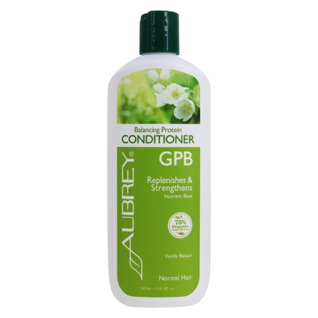 Wheat Protein Conditioner - Aubrey Organics - Conditioner Balancing Protein GPB Nutrient Blast Classic Scent - 11 oz.