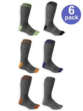 d956653454e60 Product Image Men's Marled Athletic Crew Socks, 6 Pairs