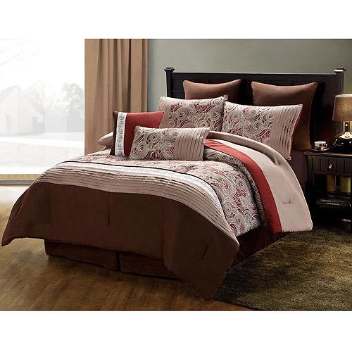 Victoria Classics Vista Paisley 8-Piece Bedding Comforter Set