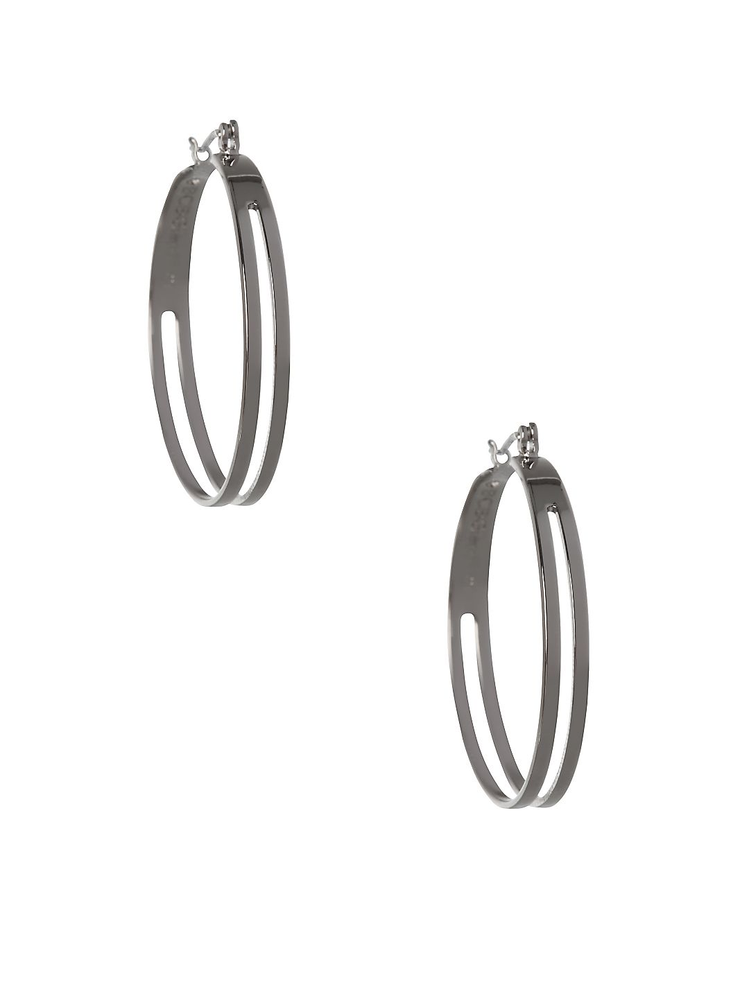 Replenishment 2-Row Hoop Earrings