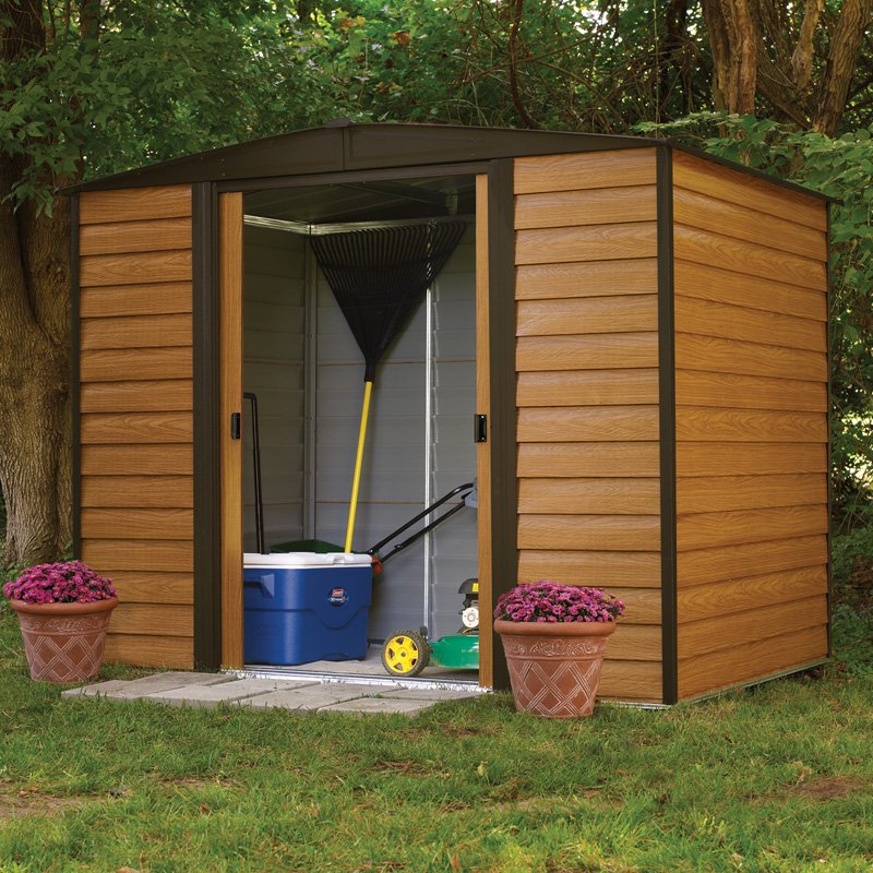 Arrow Shed Woodridge 8 x 6 ft. Steel Storage Shed