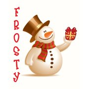 Secretly Designed Frosty by Secretly Spoiled Graphic Art