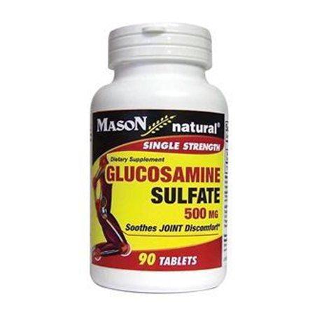 Mason Glucosamine Natural 500 mg Sulfate de force unique - 90 Ea