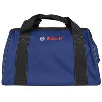 "Bosch Tools 16"" × 9"" × 11"" Dark Blue Canvas Tool Bag"