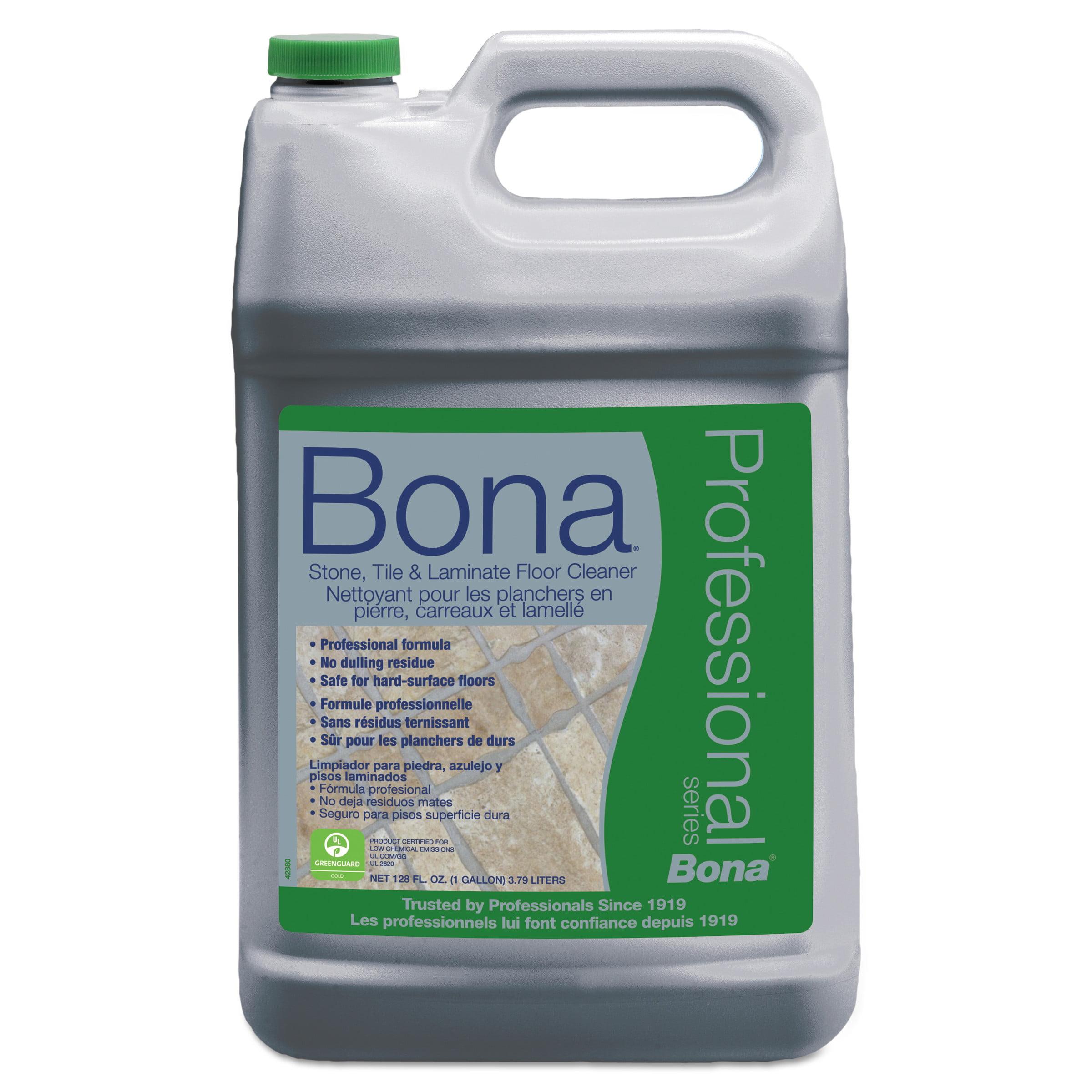 Bona Stone, Tile & Laminate Floor Cleaner, Fresh Scent, 1 gal Refill Bottle