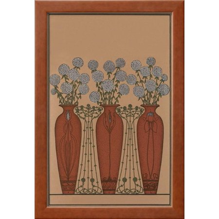 Arts And Crafts Vases Framed Print Wall Art Walmart
