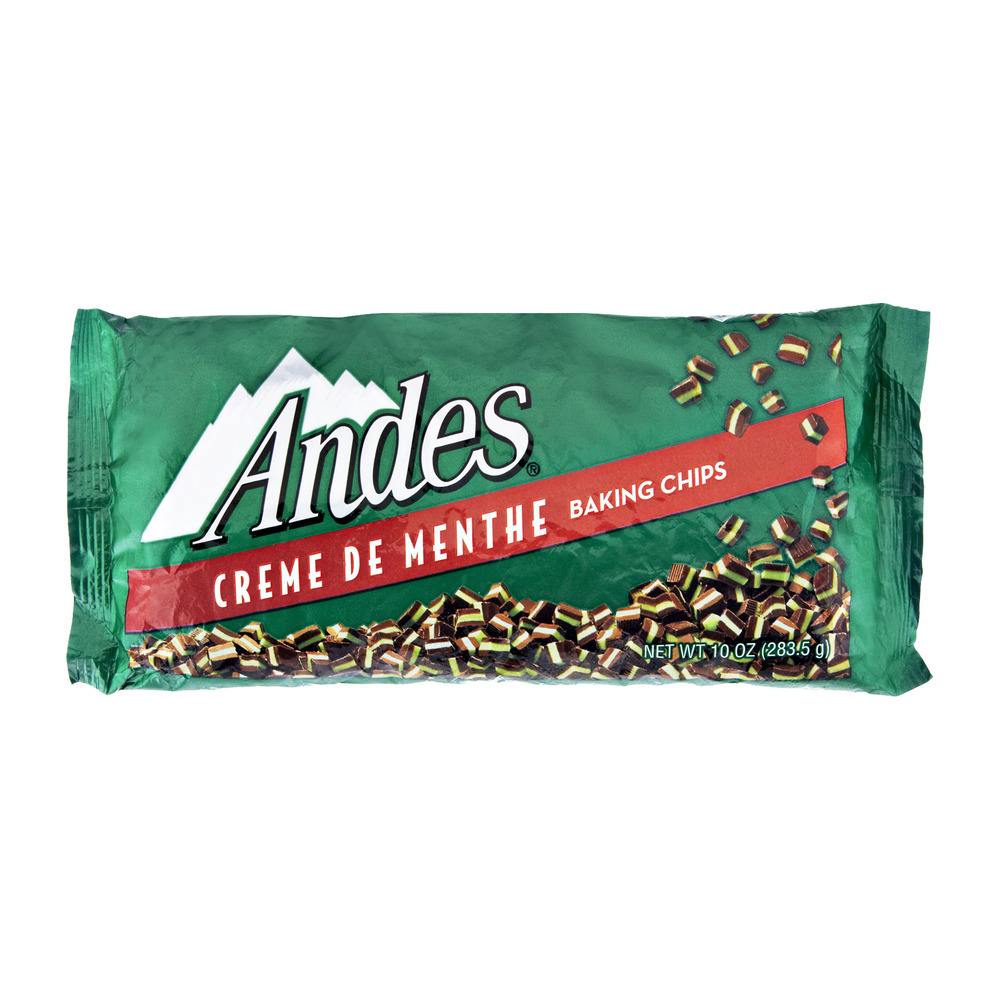 Andes Creme De Menthe Baking Chips, 10 oz by Charms Div Tri Sales Co.