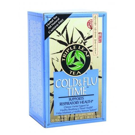 Triple Leaf Tea Cold And Flu Time - 20 Tea Bags