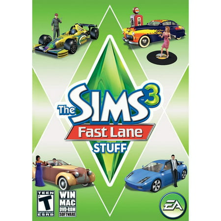 The Sims 3 Fast Lane Stuff - Mac, Win - DVD