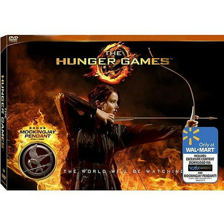 The Hunger Games (Walmart Exclusive) (DVD + Mockingjay Pendant)](Hunger Games Gown)
