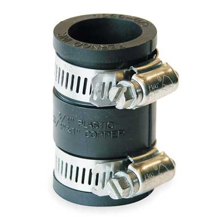 FERNCO Flexible Coupling,For Pipe Size 3/4x3/4 -