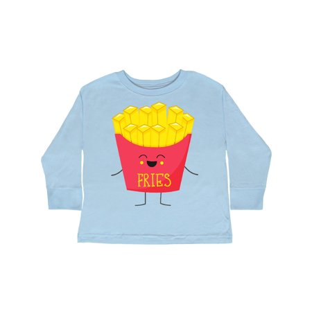 French Costume For Kids (French Fries Costume Toddler Long Sleeve)
