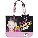 Nickelodeon JoJo Siwa  Tote Bag with Polka Dot Bow Bride Polka Dot Tote