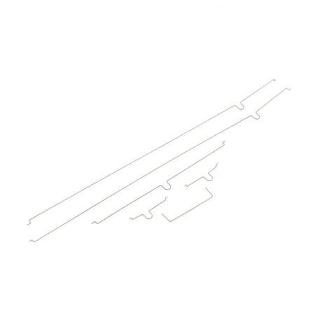 E-flite Pushrod set: UMX Cessna 182, EFLU5605