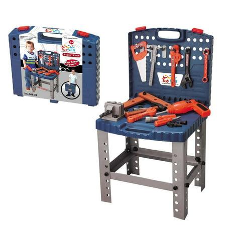 Kids Tool Workbench (Children Toy Tool Set Workbench Kids Workshop Toolbench )