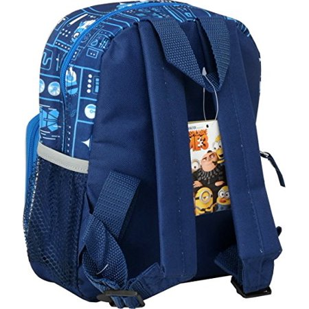 """Mini Backpack - Despicable Me 3 - Minions Blue DM3 10"""" School Bag 153933 - image 1 of 2"""