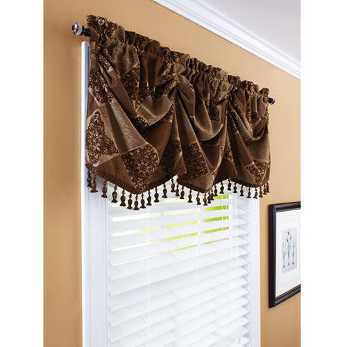"Better Homes And Gardens 52"" Boucle Curtain Valance - Walmart.Com"
