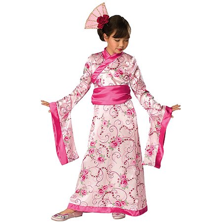 Eastern Rose Princess Toddler Halloween Costume (Halloween Costumes Kimono)