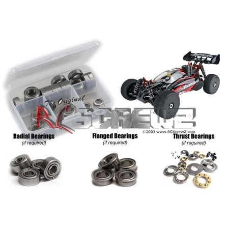 Ofna 1/8 Buggy (RC Screwz Metal Shielded Bearing Kit for OFNA Hyper SS Electric Buggy 1/8 )