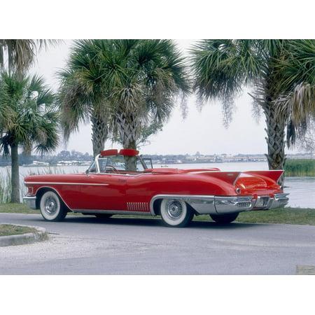 1958 Cadillac Eldorado Biarritz Print Wall Art (1958 Cadillac Eldorado Biarritz Convertible For Sale)