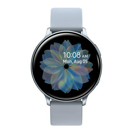SAMSUNG Galaxy Watch Active 2 Aluminum 44mm Silver Bluetooth - SM-R820NZSAXAR