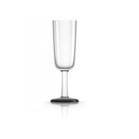 MARC NEWSON PM823 Flute Glass - Black Nonslip Base - image 1 of 1