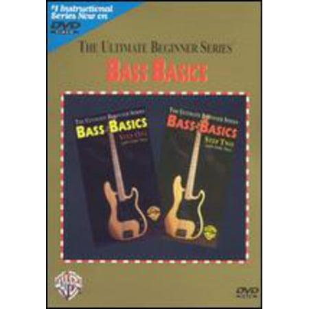 Ultimate Beginner Series Rock Bass - Ultimate Beginner Series: Bass Basics (DVD)