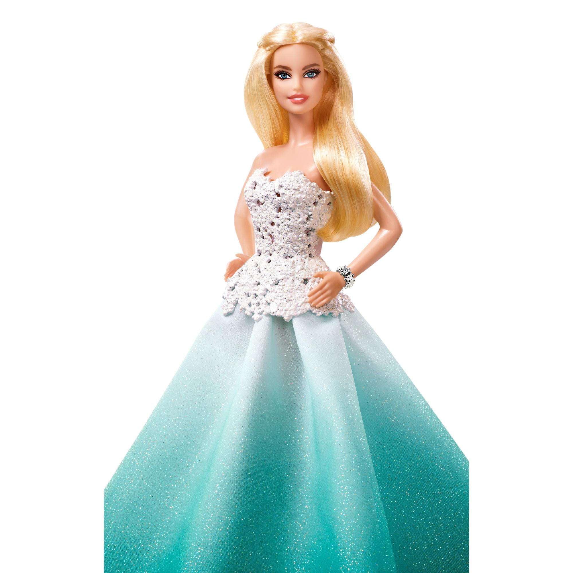 2016 Barbie Holiday Doll - Walmart.com