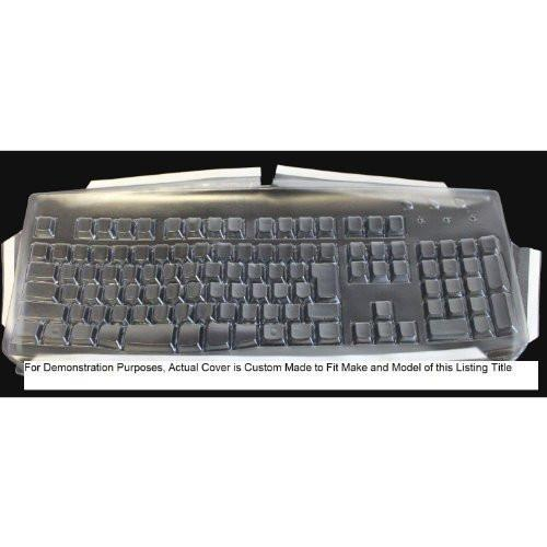 Custom Made Transparent Protection Keyboard Cover (ONLY) for Logitech Keyboard - Model Number: MK320, Y-R0009 - Keyboard and Mouse are NOT Included.