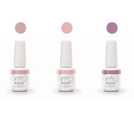 Gelish Mini The Color of Petals Spring Collection 3 Piece Gel Nail Polish -