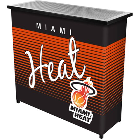 Miami Heat Hardwood Classics NBA Portable Bar with Carrying Case by