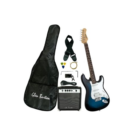 Electric Guitar Package with 10 Watt Guitar Amp + Strings + Electric Tuner + Gig Bag + Strap + Single Coil + Humbucker Pickups and More, Great Stratocaster Electric Guitars for Beginners, (Best Pickups For 12 String Electric Guitar)