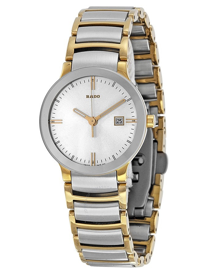 Rado Centrix Jubile Silver Dial Two-tone Ladies Watch R30932103