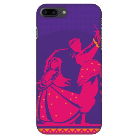 buy popular 21bc8 aae66 iPhone 8 Plus Case - Dandiya Beats, Hard Plastic Back Cover. Slim Profile  Cute Printed Designer Snap on Case with Screen Cleaning Kit