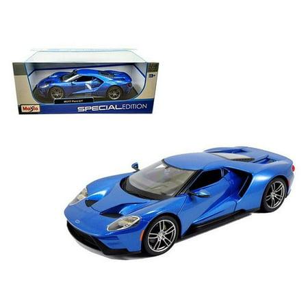 OVP Ford GT 2017 blau metallic 1:18 Maisto 31384 neu